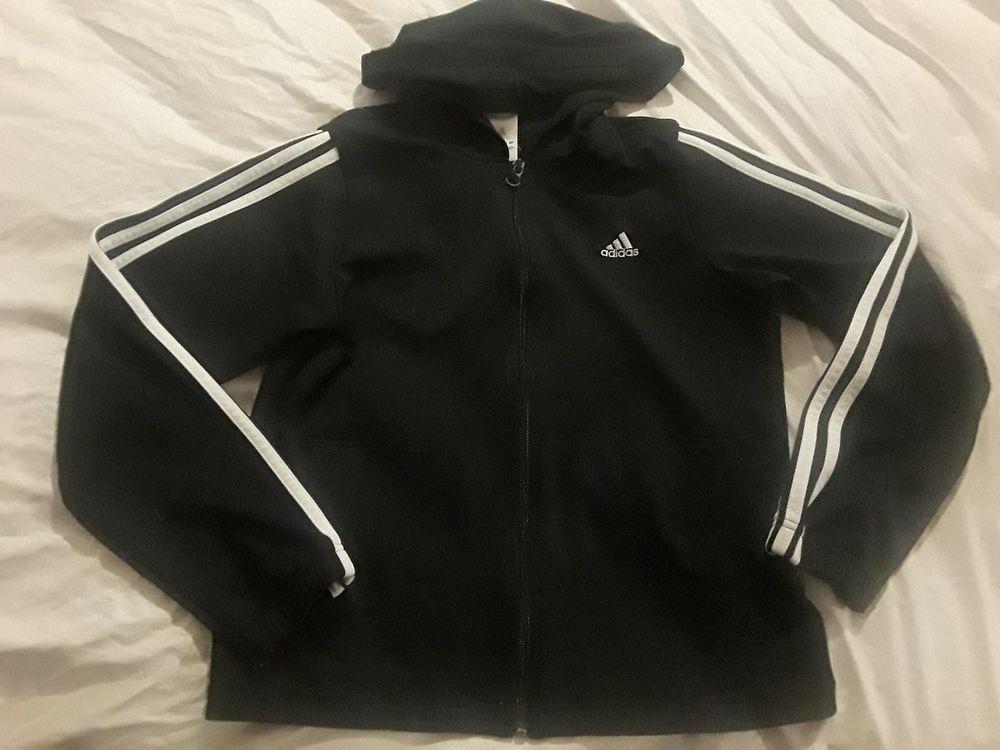 33f37f3690a5 Adidas Black White Stripes Jacket Kids Large  fashion  clothing  shoes   accessories  kidsclothingshoesaccs  boysclothingsizes4up (ebay link)