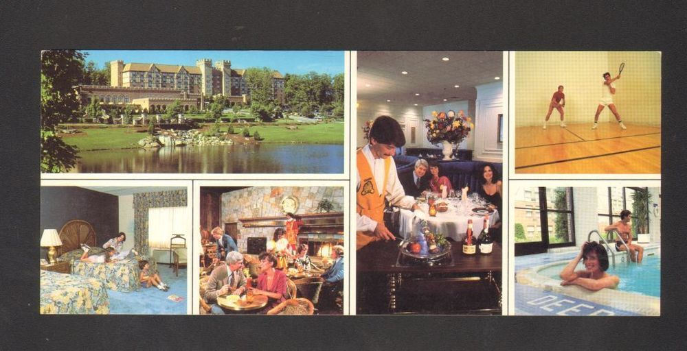 Undated Unused Oversized Postcard Sheraton Tara Hotels Nashua New Hampshire Nh