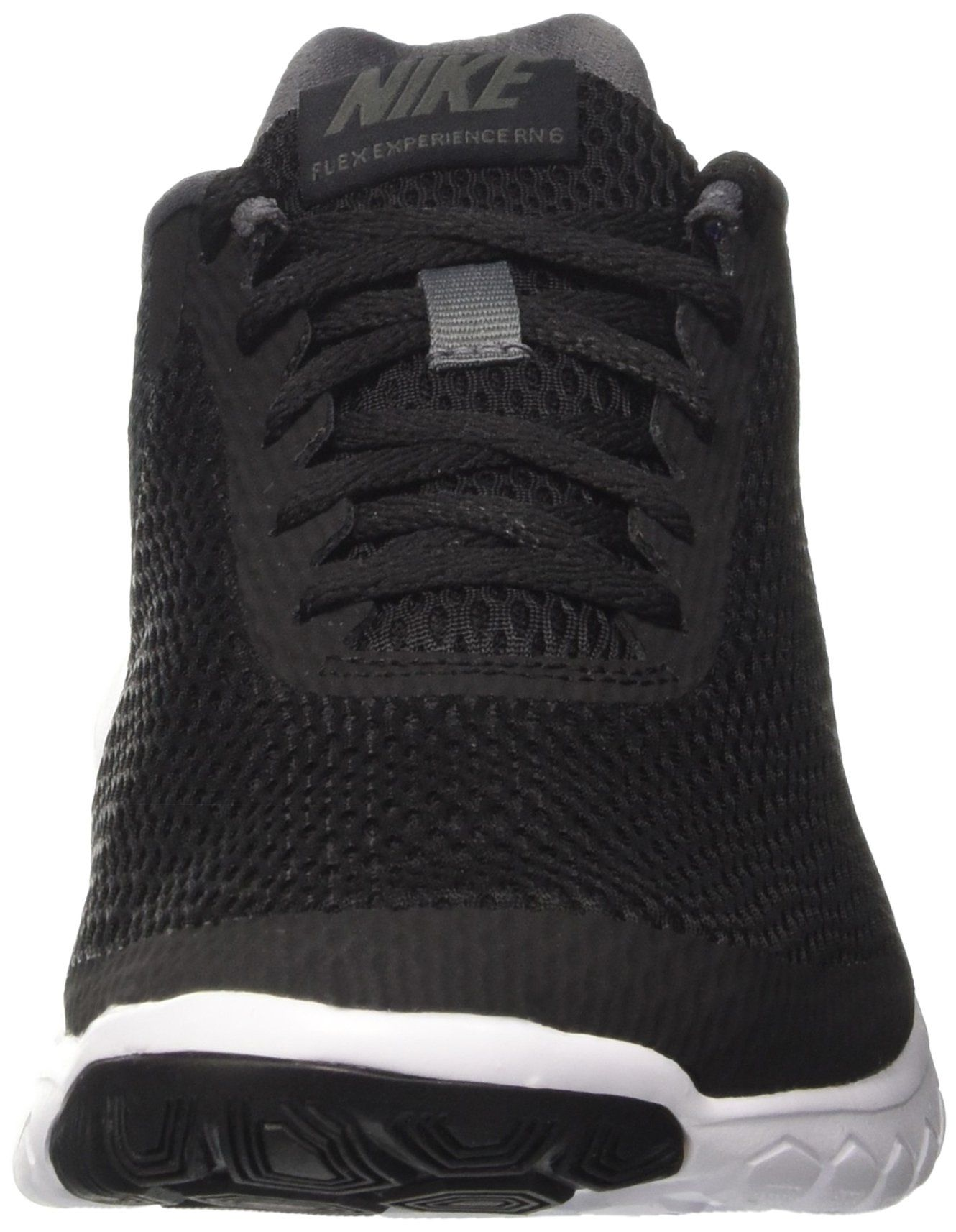 7040399f79097 NIKE MENS NIKE FLEX EXPERIENCE RN 6 BLACK BLACK DARK GREY SIZE 8 -- You can  find out more details at the link of the image.(It is Amazon affiliate  link)   ...