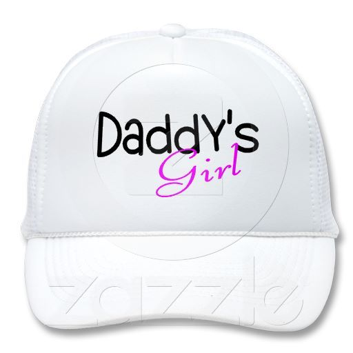 Daddys Girl trucker hat