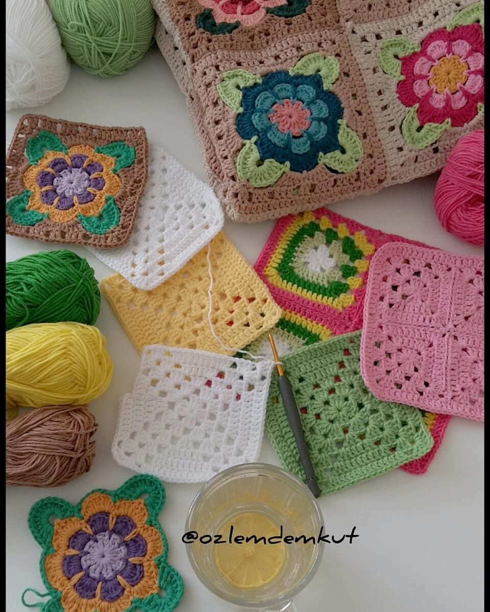 Cuadros Ganchillo Crochet Painted Roses Pattern See Ravelry Cuadros Ganchillo