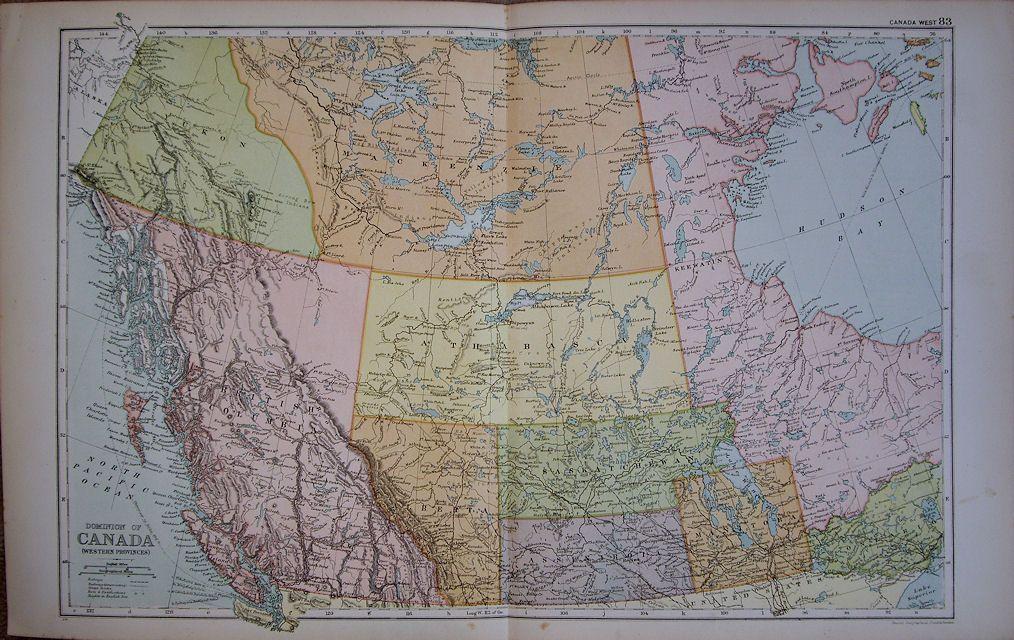 Dominion of Canada Western Provinces G W