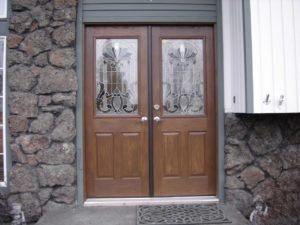 New Masonite Double Entry Doors