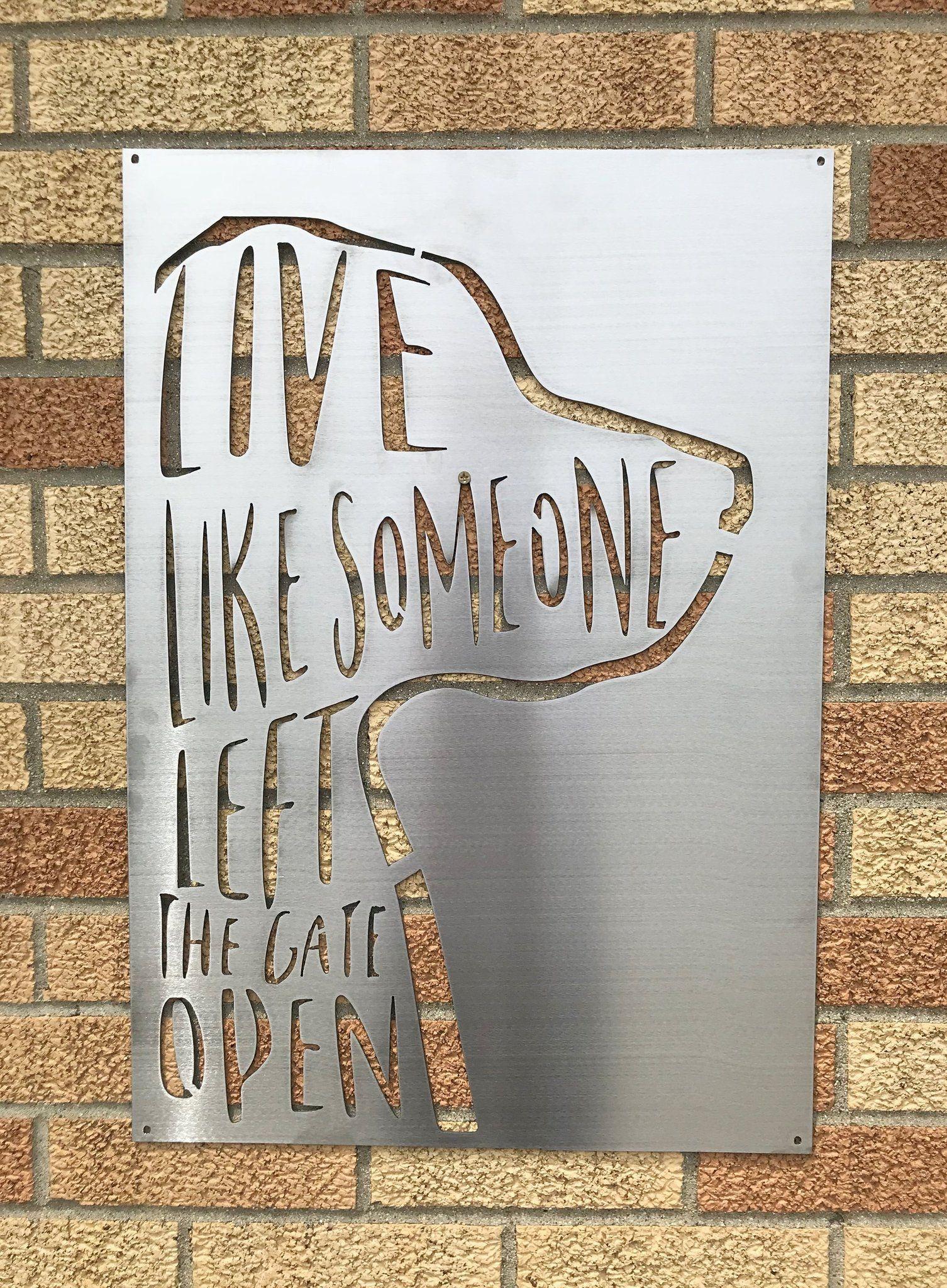 Dog Themed Inspirational Sign Dog home decor
