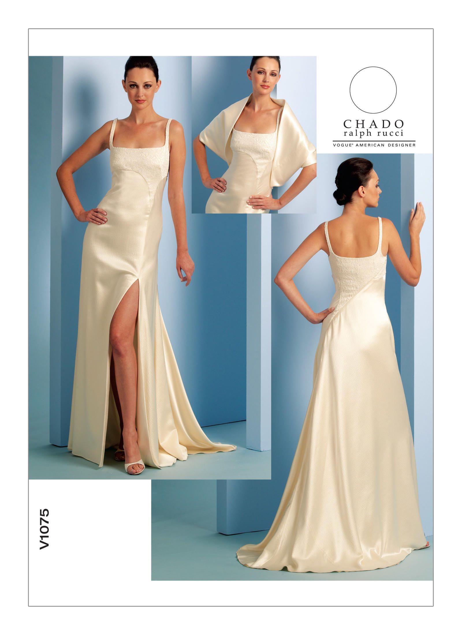 V1075 | Vogue Patterns | Crafting and Sewing | Pinterest | Vogue ...