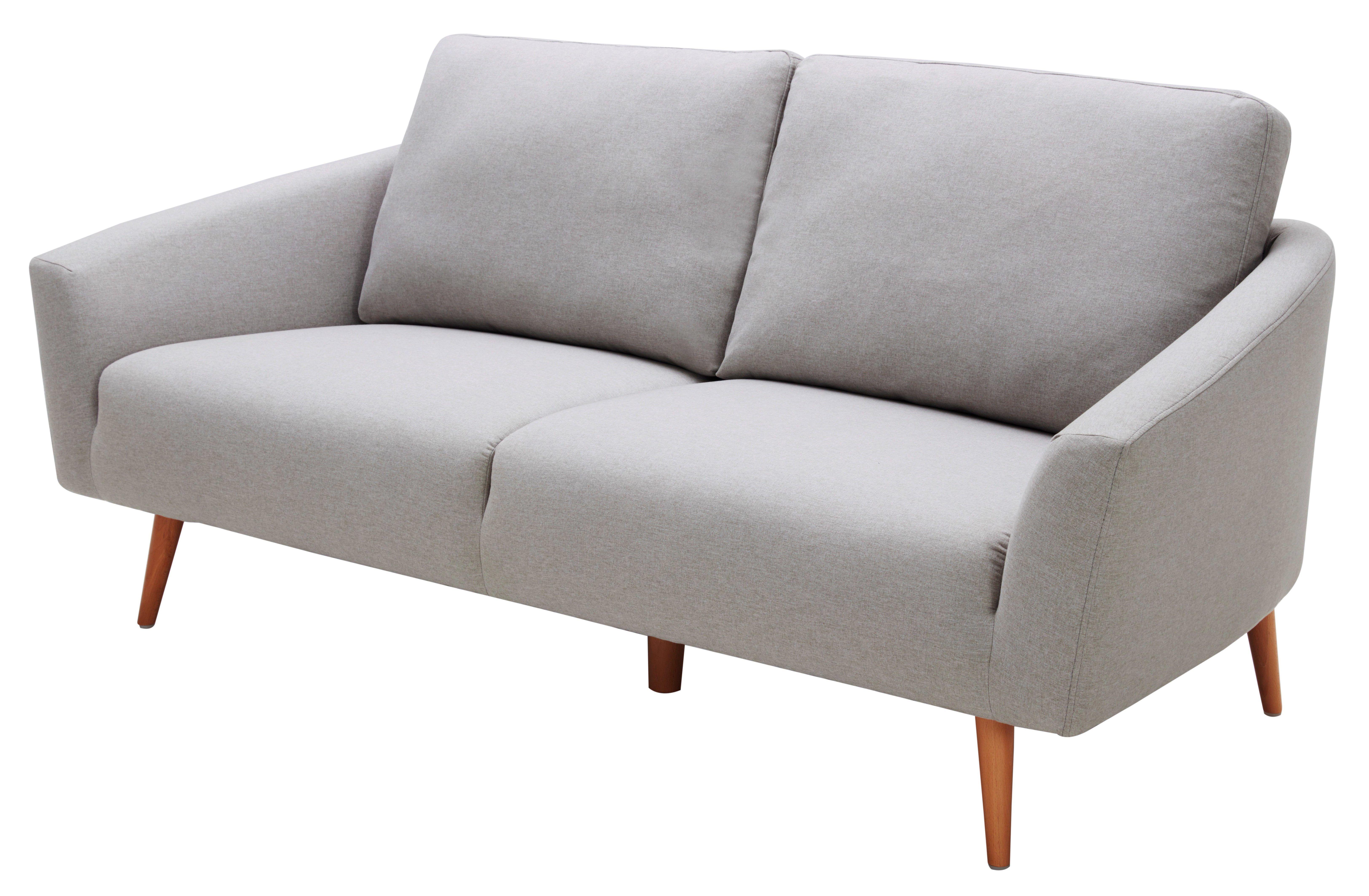 canap 3 places narvik tissu gris clair tissu gris d coration scandinave et les canap s. Black Bedroom Furniture Sets. Home Design Ideas