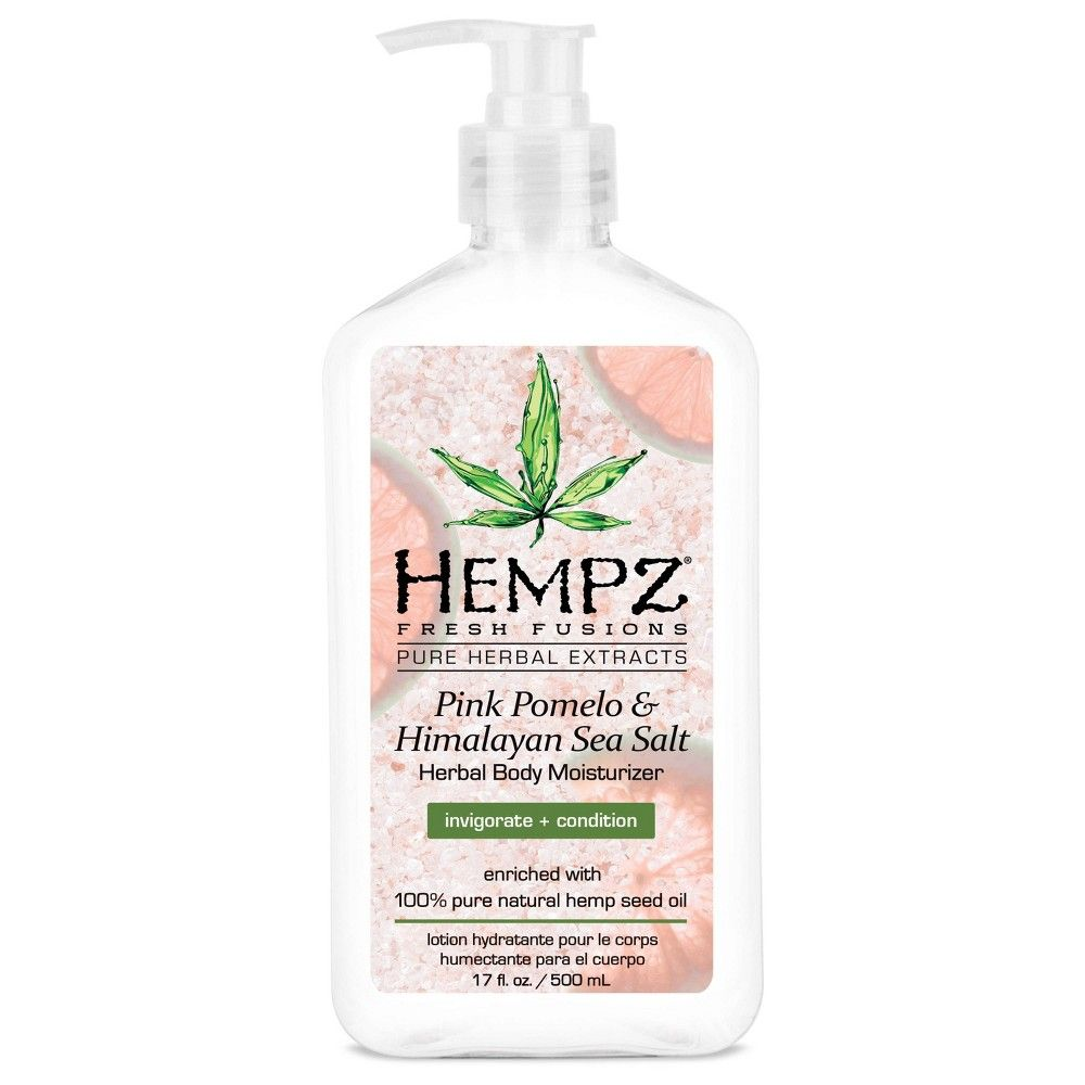 Hempz Pink Pomelo Sea Salt Hand And Lotion 17 Fl Oz Hempz
