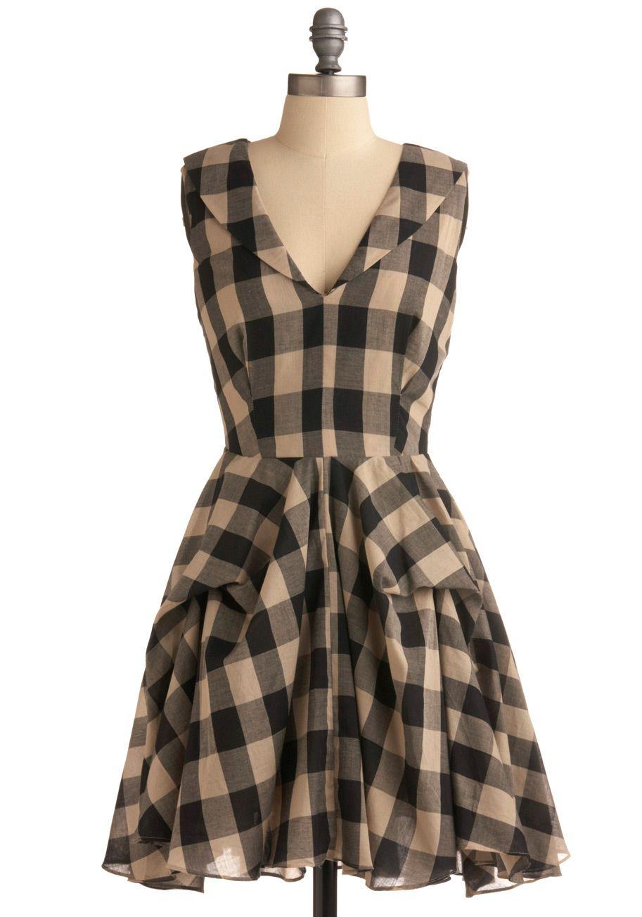 Buffalo Checkered Dress