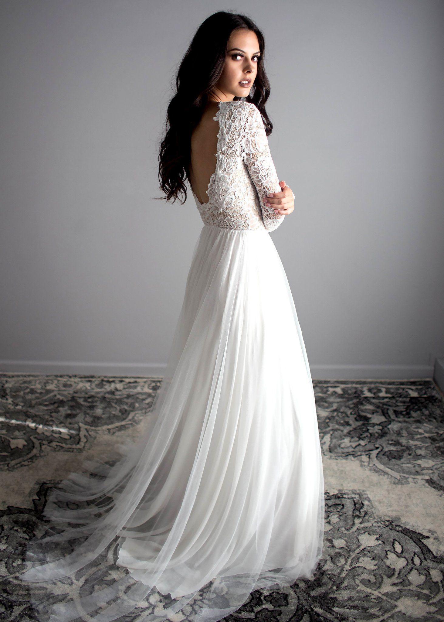 Zoey ScoopBack Dress weddingdress Wedding Dress in