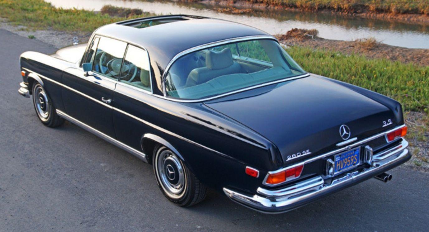 1971 mercedes benz 280se 3 5 coupe