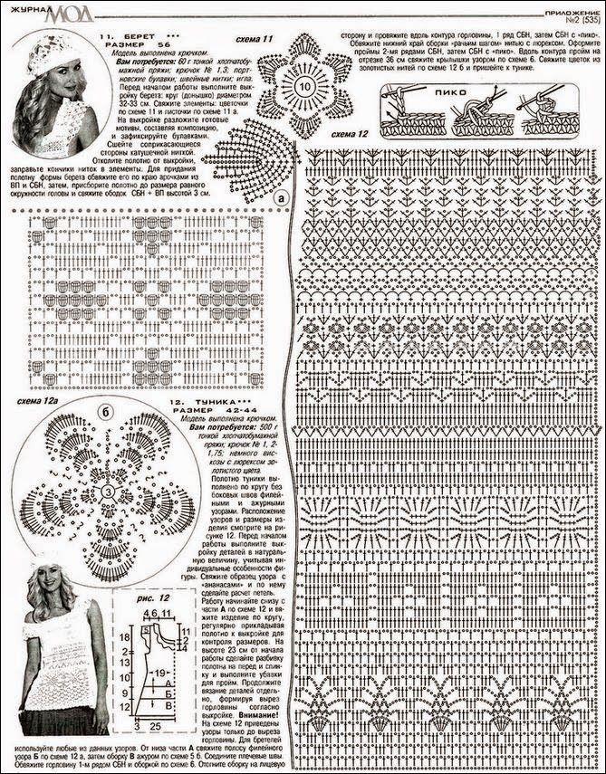 Todo crochet | Pinterest | Boinas tejidas, Franceses y Patrón gratis