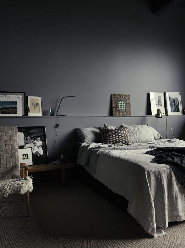Monochrome slaapkamer van Pia Ulin | Pinterest | Bedrooms ...