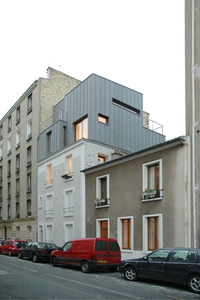 Amazing SURELEVATION, Paris, Hardel Et Le Bihan Architectes   Realisation