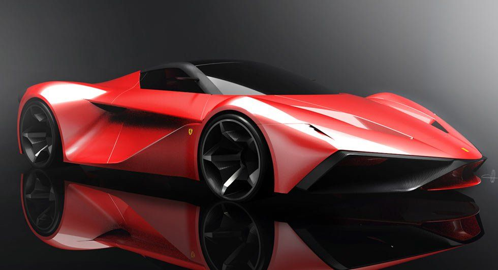 Ferrari Laferrari Replacement Imagined In New Design Study Com