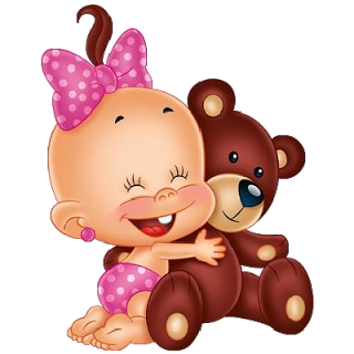 Baby with teddy bear funny baby images scrapbooking for Transparent piggy bank money box