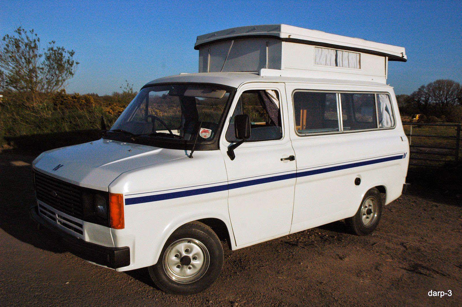 ford transit mk2 camper van classic cars transit. Black Bedroom Furniture Sets. Home Design Ideas