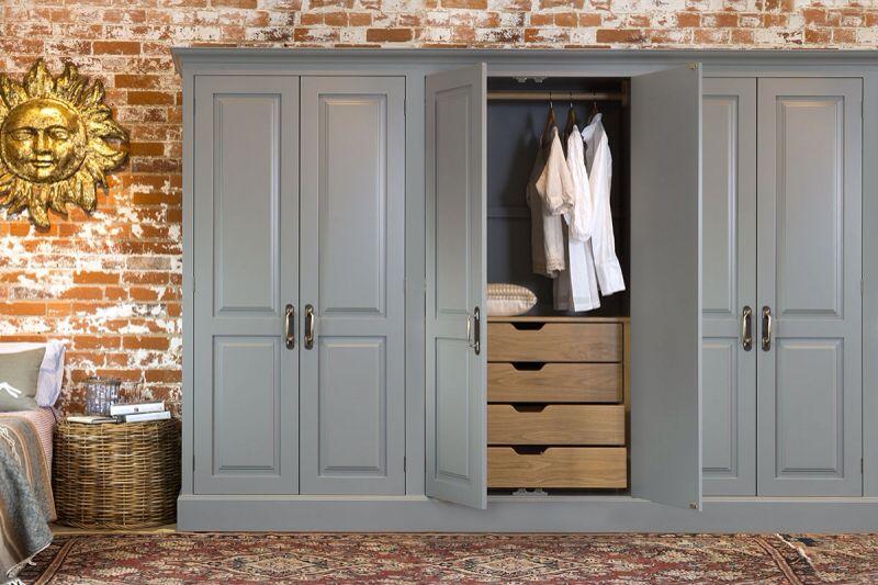 John Lewis Grey Oak Wardrobe