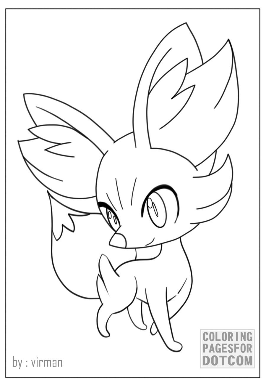 pokemon coloring pages character 3 by http coloringpagesfor com
