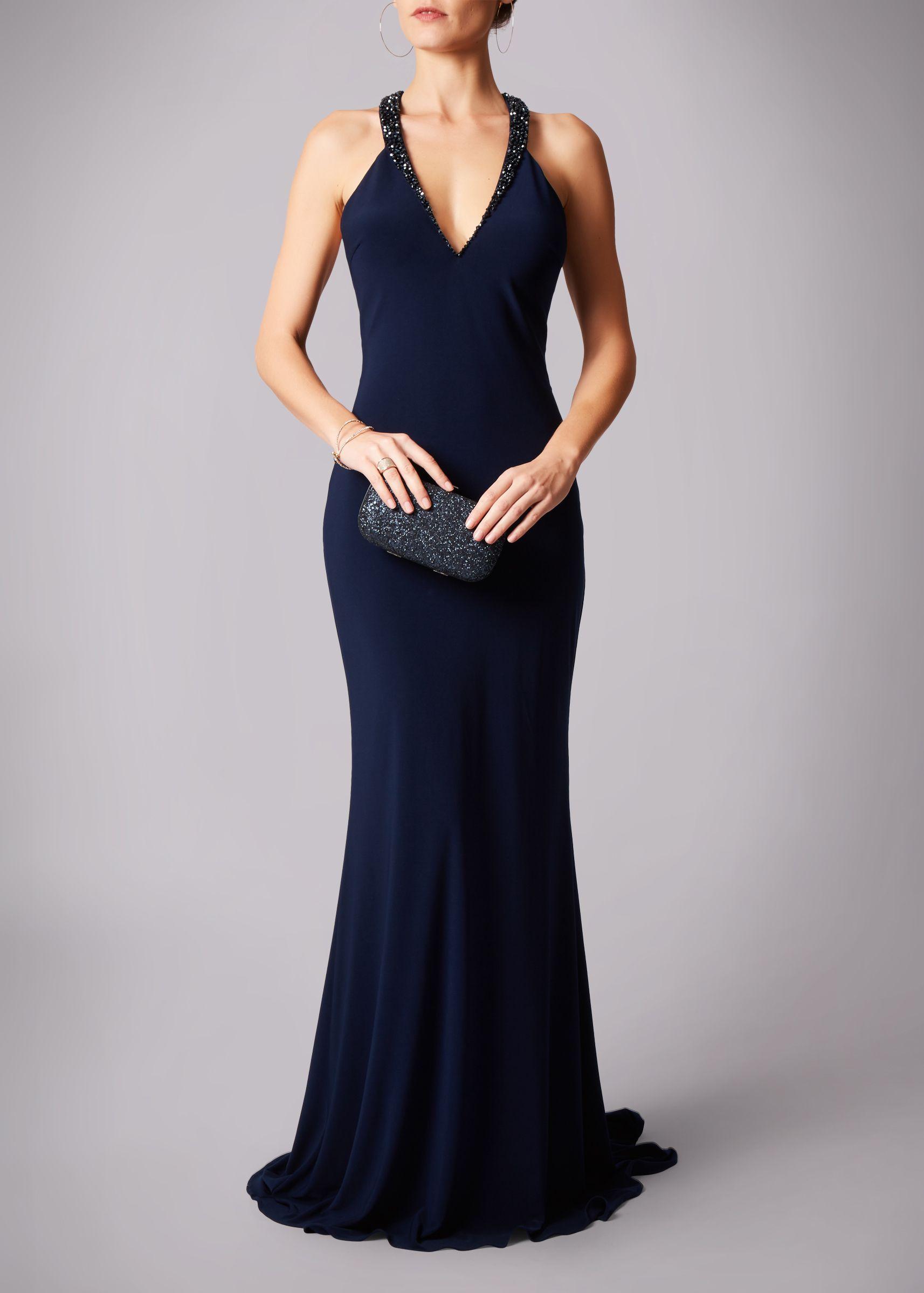 gala jurk lang