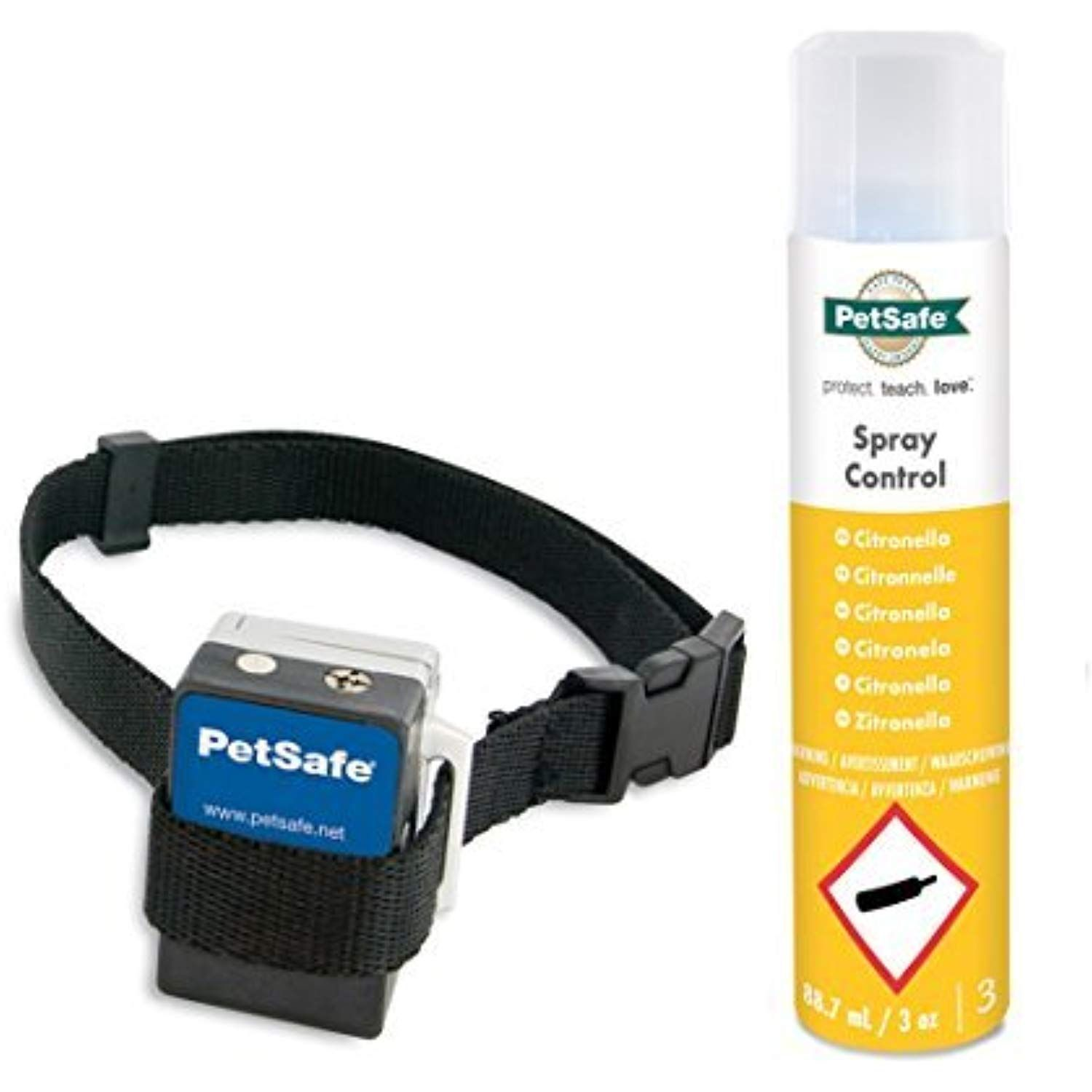 Petsafe Gentle Spray Bark Collar For Dogs Citronella Anti Bark