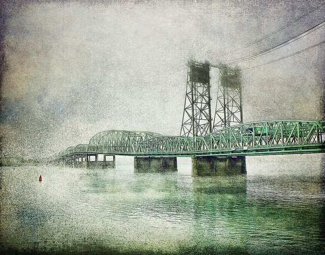 I-5 Interstate Bridge connecting Portland, OR and Vancouver