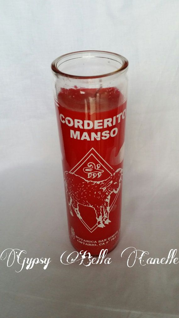 Docile Sheep Corderito Manso Candle Brujeria by