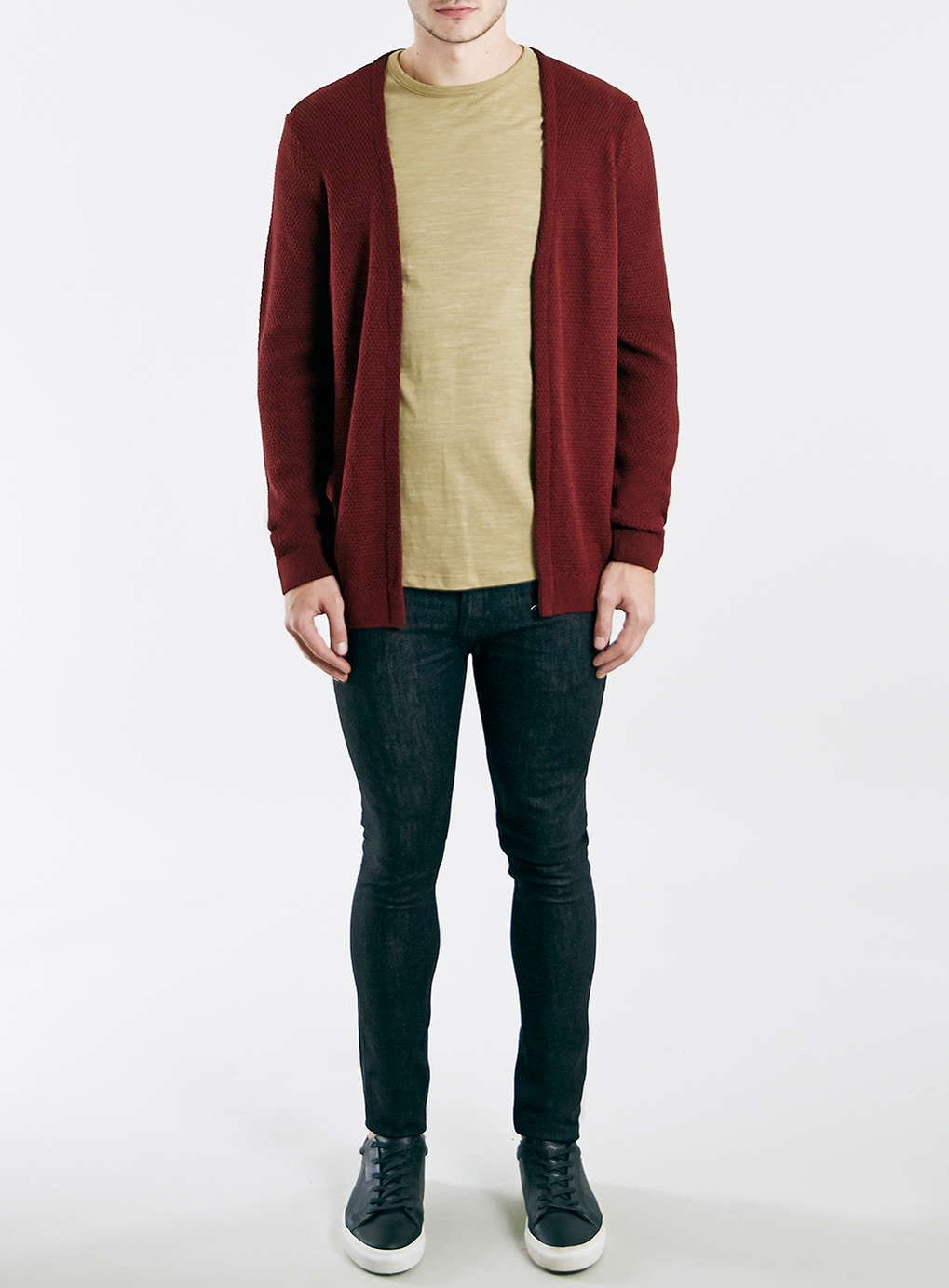 Burgundy Open Cardigan - New Arrivals - New In | Open cardigan