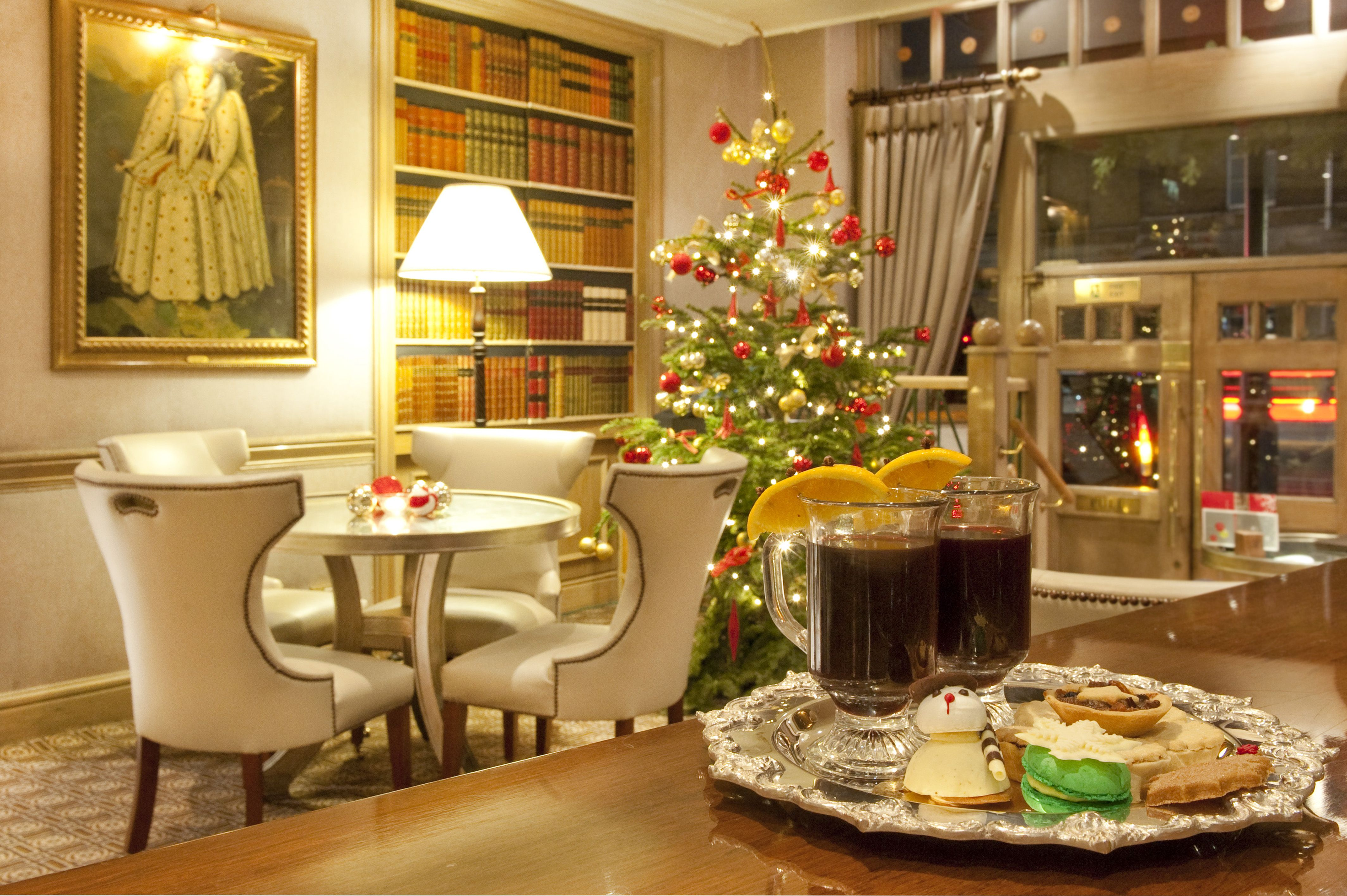 A Festive Afternoon Tea At The Rubens At The Palace,