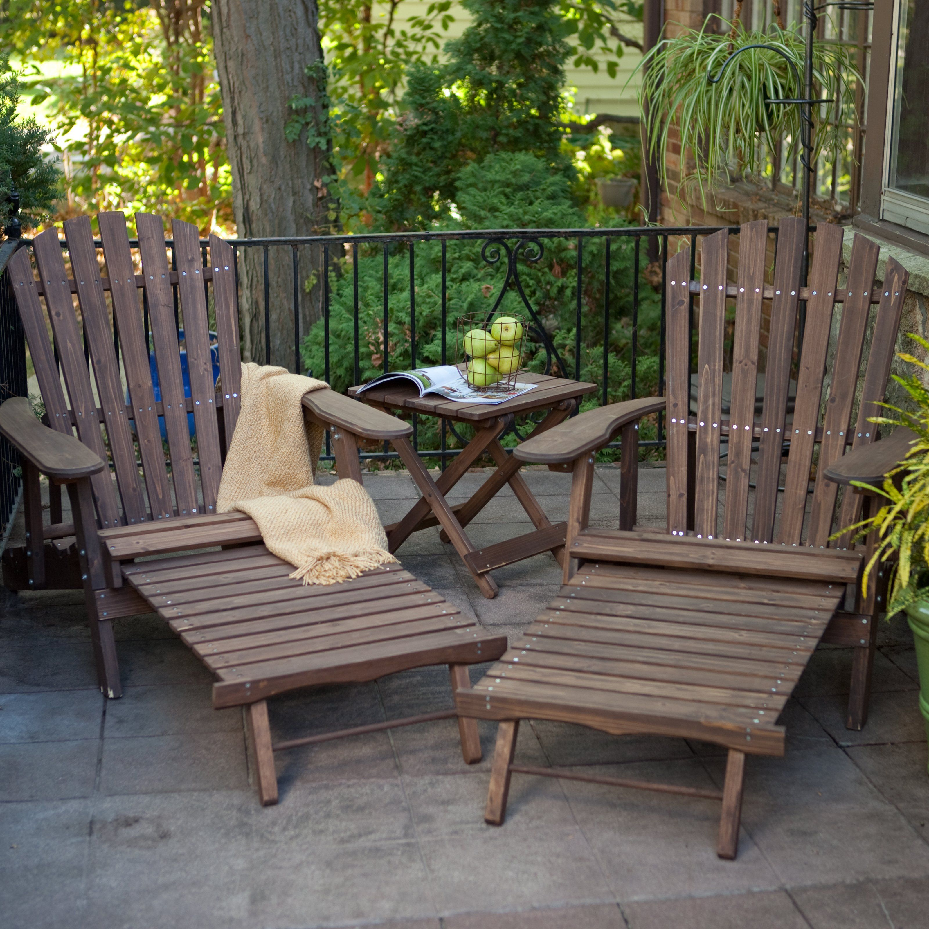 Adirondack Coffee Table Set: Have To Have It. Grand Daddy Oversized Adirondack Chair