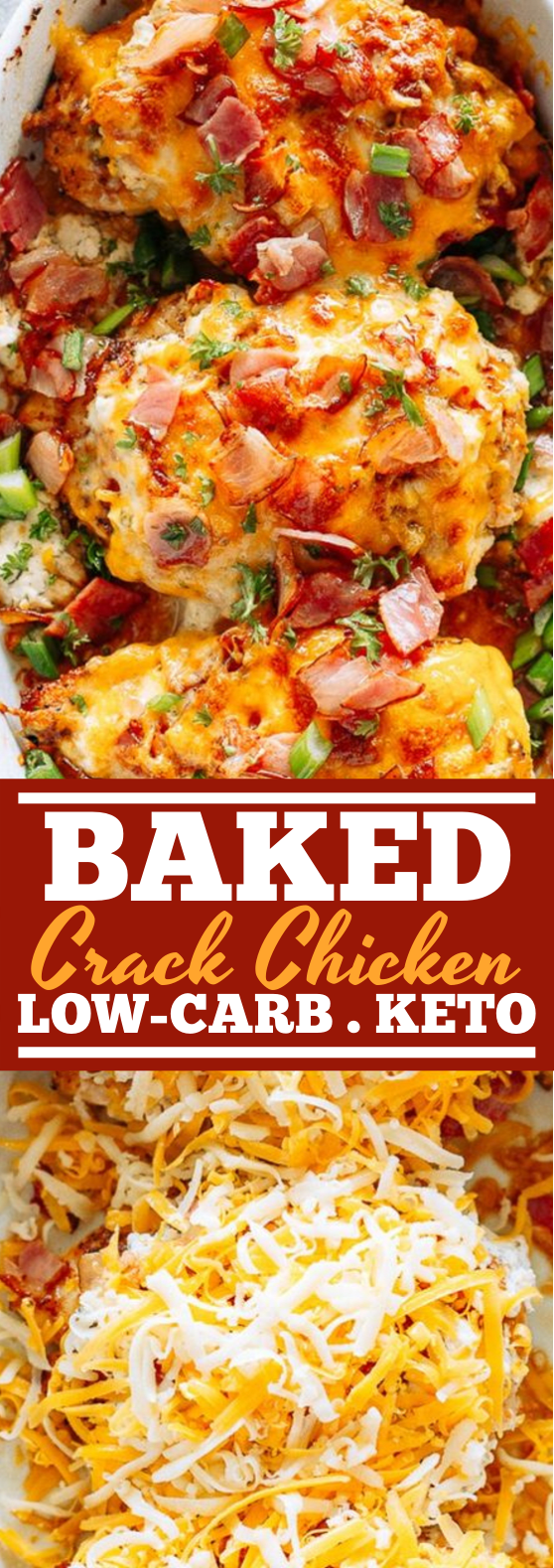 Baked Crack Chicken Breasts #keto #chicken #insurancequotes
