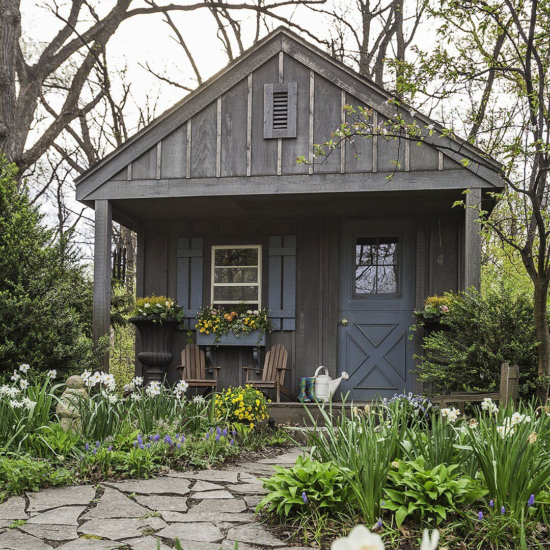 30 Garden Shed Ideas For The Ultimate Outdoor Oasis Rustic Shed