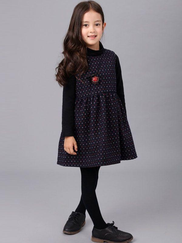 718f51025 Exquisite Round Dots Wool Mini Dress