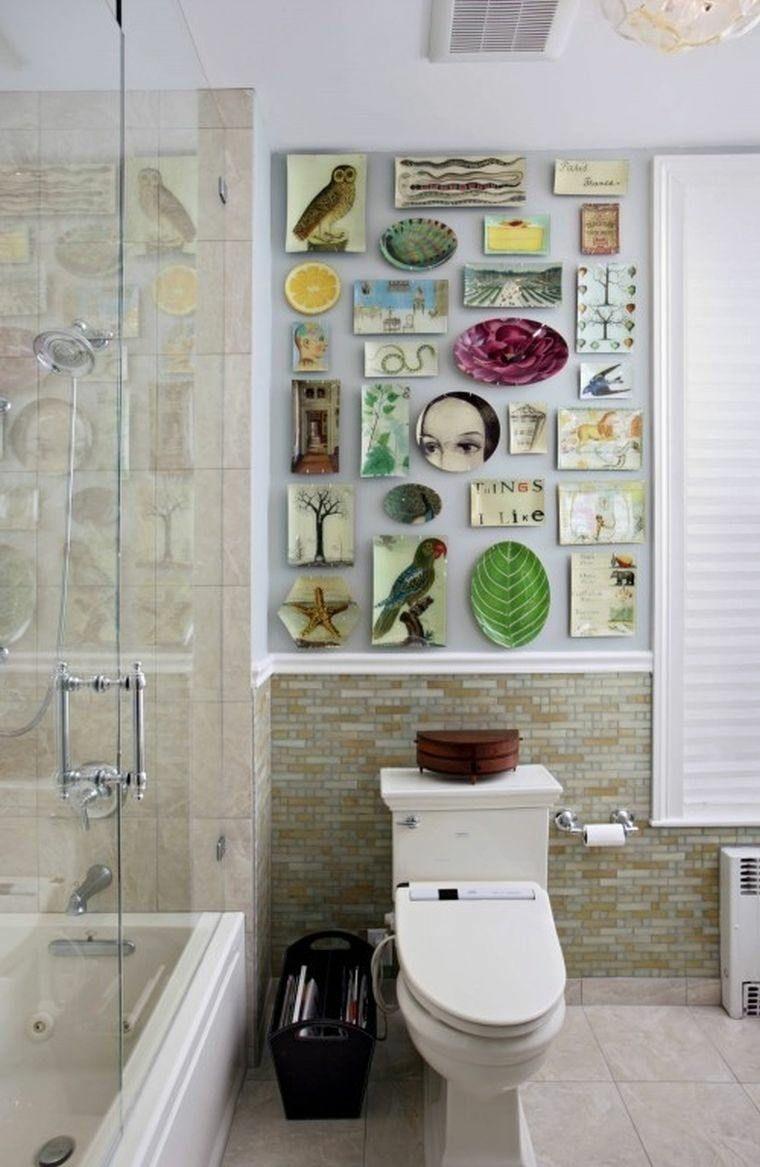 D Coration Wc Toilette 50 Id Es Originales Toilette Mur Et Wc Toilette