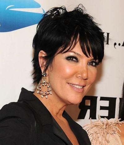 Hairstyles Short Hairstyles Kris Kardashian Pinterest Short