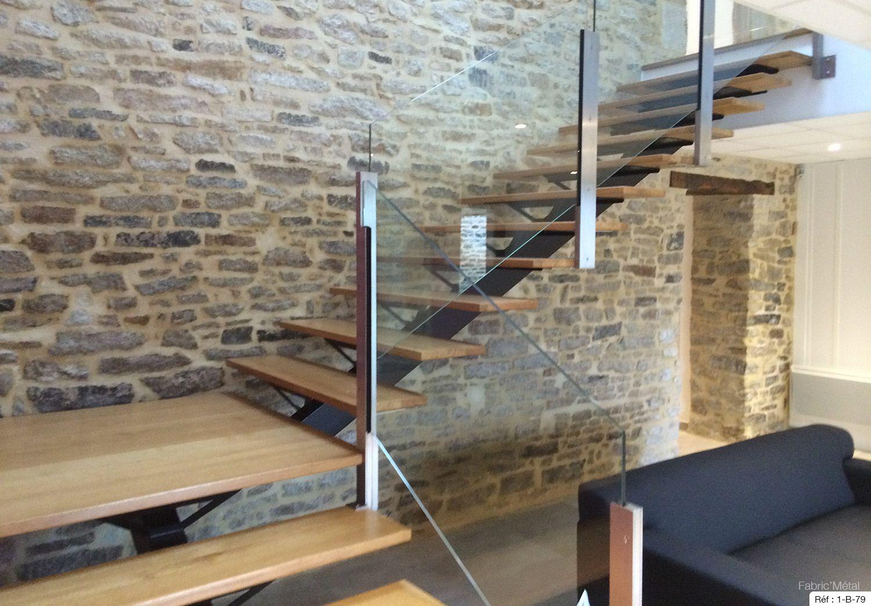Fabricant escalier un quart tournant Bretagne : Vannes, Rennes ...