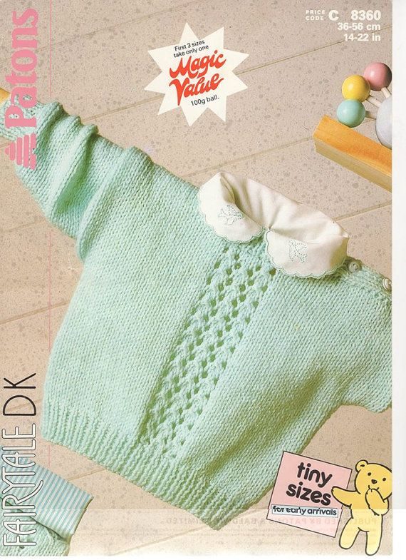 Patons 8360 children sweater children knitting by ...