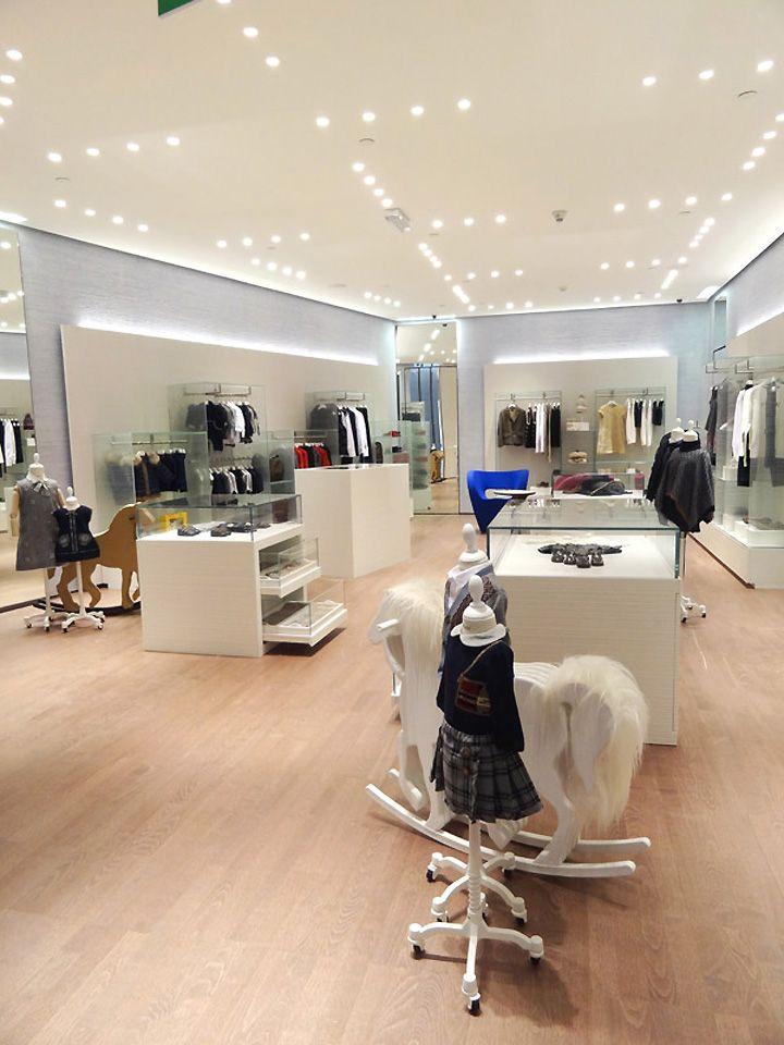 beeaef261 VISUELLE: FENDI Kids store, Doha – Qatar Kids Store, Baby Boutique, Boutique