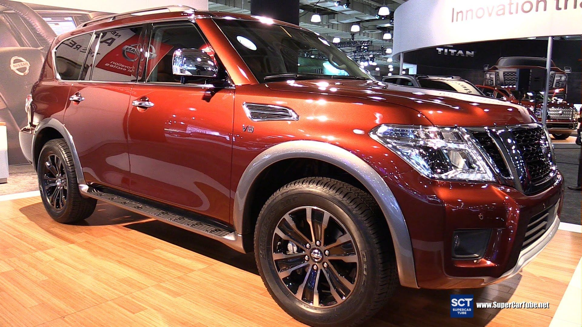 2017 Nissan Armada Platinum - Exterior and Interior Walkaround - 2016 Ne...