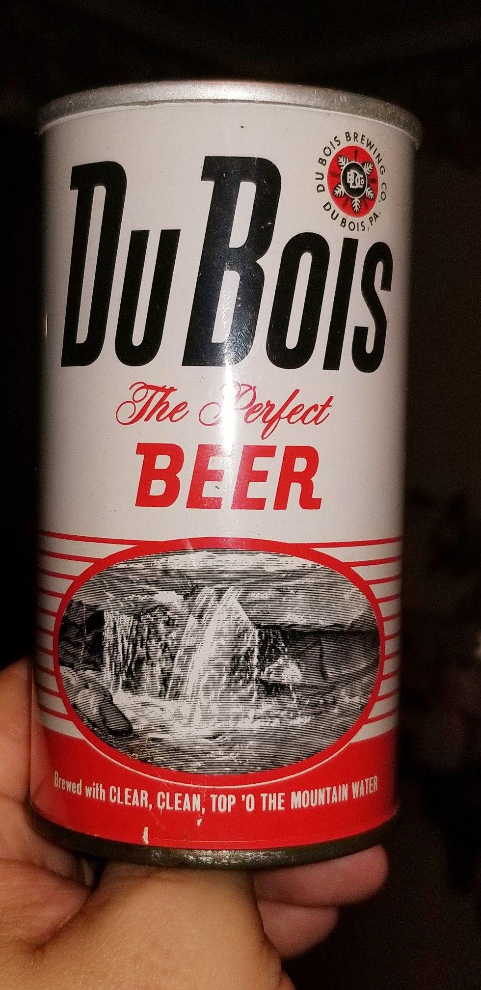 Du Bois The Perfect Beer Du Bois Pa 1965 Old Beer Cans Vintage Beer Beer