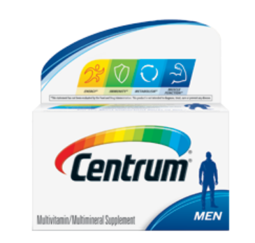 Centrum سنتروم للرجال Centrum For Men Centrum Personal Care