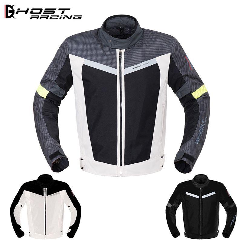 Ghost Racing Motorcycle Blouson Moto Jacket Riding Locomotive