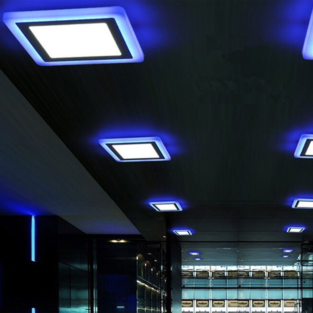 Universe Of Goods Buy 4x Slim White Blue Dual Color Led Panel