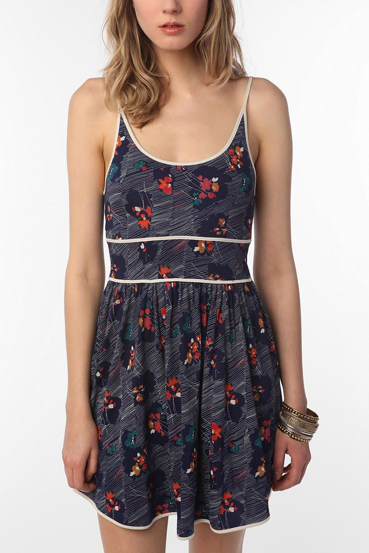 still thinking about buying this... UrbanOutfitters.com > Cooperative Knit Citronella Sundress