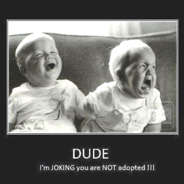 Forget the caption, the joy in this kids face at his brother's complete misery made my day hahahaha