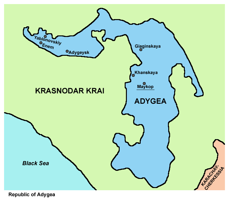 Map Of Adygea Historical Events Map Funny Jokes