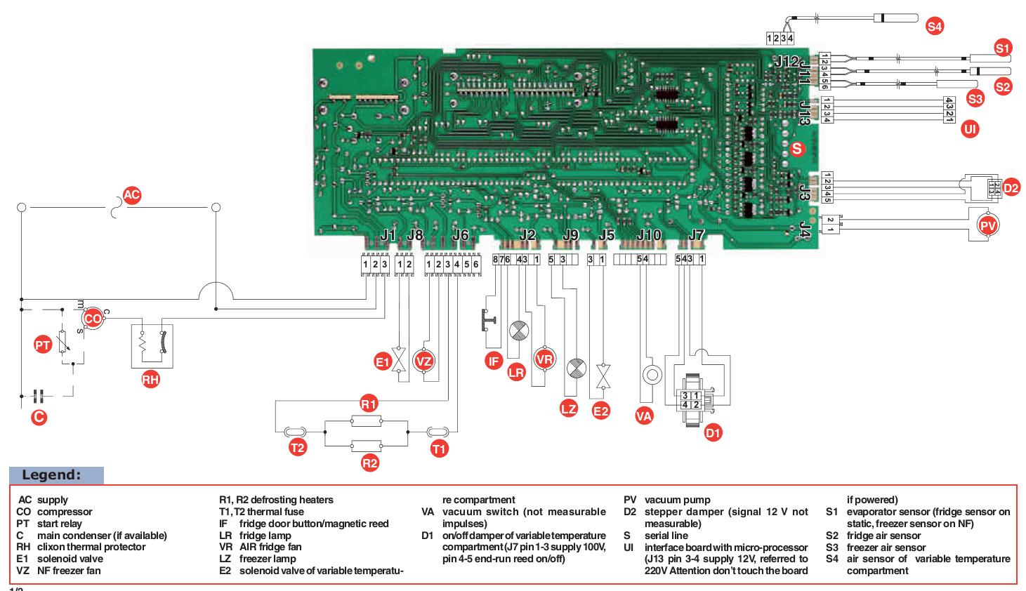I Have An Ariston Frost Free Fridge Model Mbt 1902 Fit 220v Fridge Models Vacuum Switch Vacuum Pump