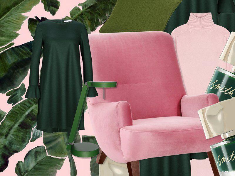 gr n pink die perfekte farbkombi im herbst deko. Black Bedroom Furniture Sets. Home Design Ideas