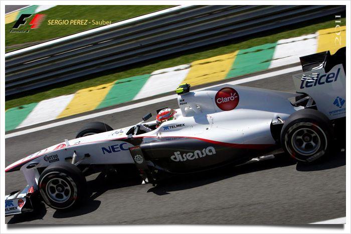 S. Pérez segundo en el gran premio de Monza
