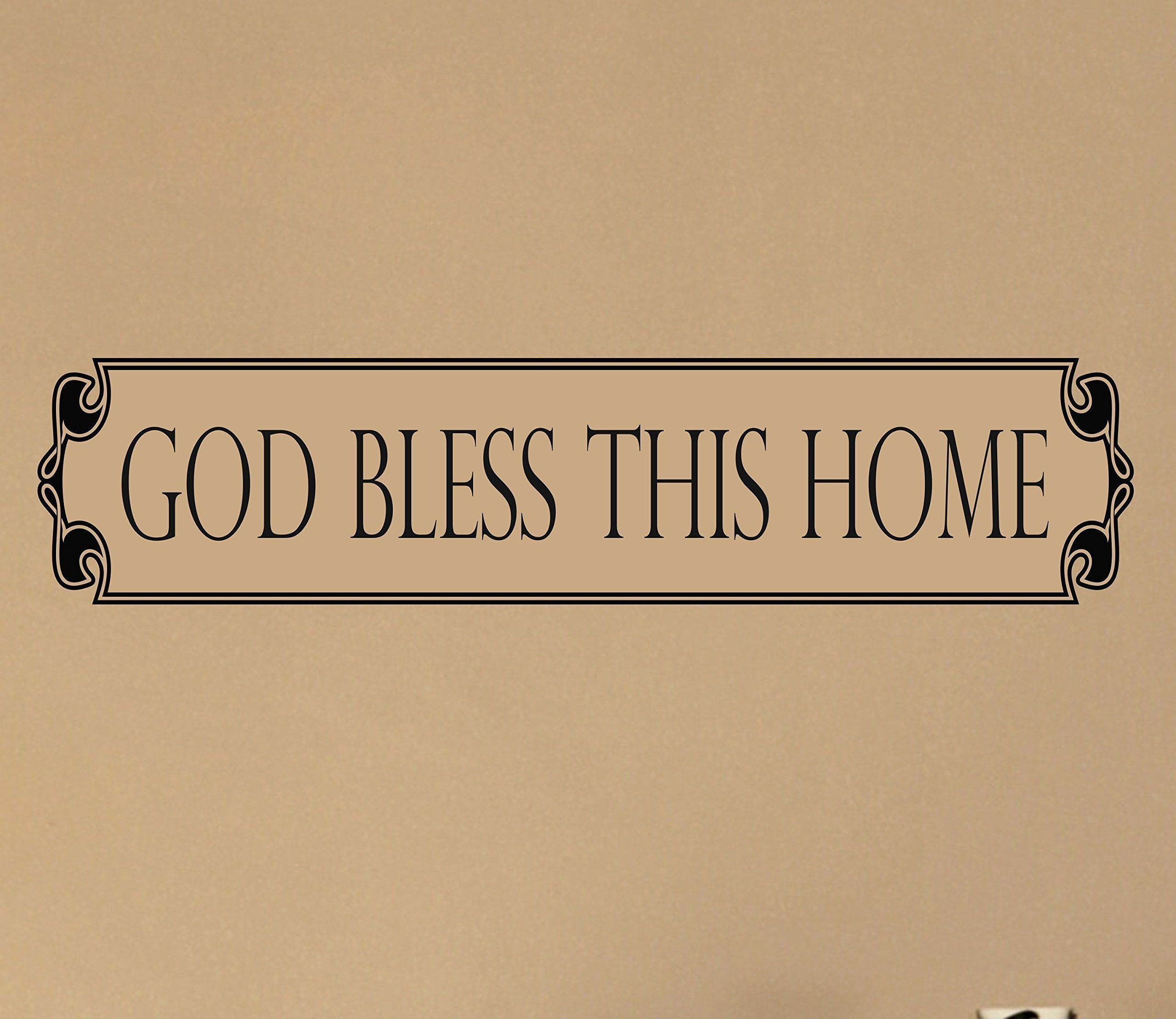 Modern God Bless This Home Wall Art Elaboration - Wall Art ...