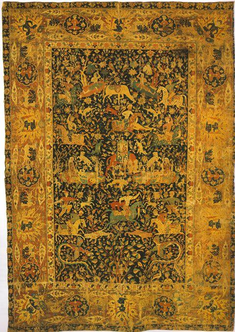 Sanguszko Safavid Carpet Kerman Central Iran Late 16th Century Musee Des Arts Decoratifs In Paris Rugs Rugs On Carpet Antique Persian Rug